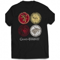 T-Shirt Game of Thrones House Crests INDIE0248