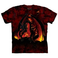 t-shirt the mountain Fireball
