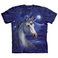 T-shirt The Mountain Unicorn Night