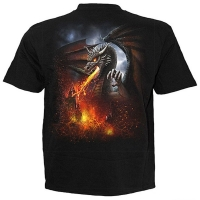t-shirt spiral direct dragon lava
