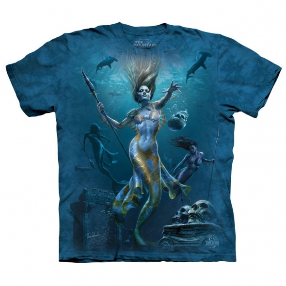 "T-Shirt Sirène ""Mermaid Hunt"" - M / Vêtements - Taille M"