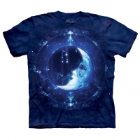 t-shirt the mountain Moon Face