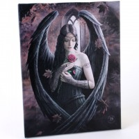 Anne Stokes toile sur chassis Angel Rose