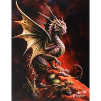 Anne Stokes toile sur chassis Desert Dragon
