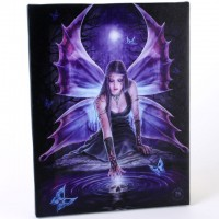 Anne Stokes toile sur chassis Fée Immortal flight