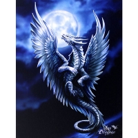 Anne Stokes toile sur chassis Silver Dragon