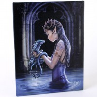 Anne Stokes toile sur chassis Water Dragon