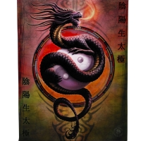Anne Stokes toile sur chassis Yin Yang Protector