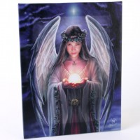 Anne Stokes toile sur chassis Yule Angel