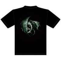 T-Shirt Dragon des Vents Elian Black Mor