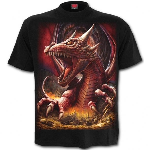 "T-Shirt Dragon ""Awake the Dragon"" - M / Vêtements - Taille M"