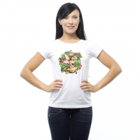 T-Shirt Fée Linda Ravenscroft Autumn Morning - tshirt fairysite