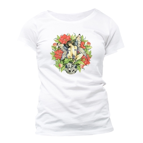 "T-Shirt Fée du Zodiaque Linda Ravenscroft ""Scorpion"" - S / Linda Ravenscroft"