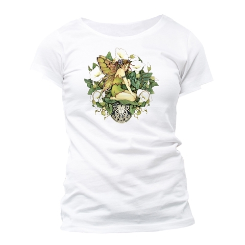 "T-Shirt Fée du Zodiaque Linda Ravenscroft ""Vierge"" - S / Linda Ravenscroft"