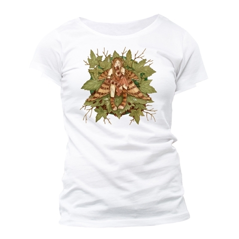 "T-Shirt Fée Linda Ravenscroft ""The Grump"" - M / T-Shirts Fées pour Femmes"