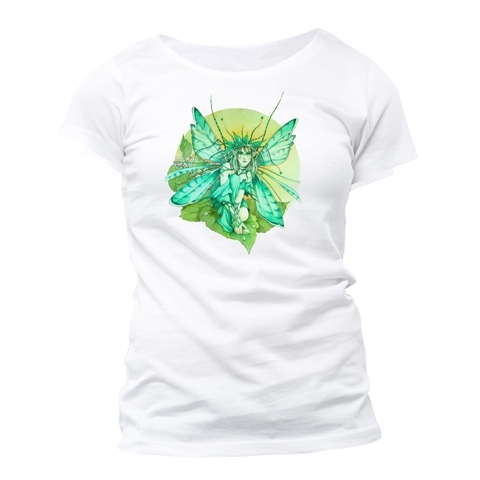 "T-Shirt Fée Linda Ravenscroft ""Verdure Fae"" - XL / Linda Ravenscroft"