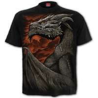 t-shirt spiral direct Majestic Dragon