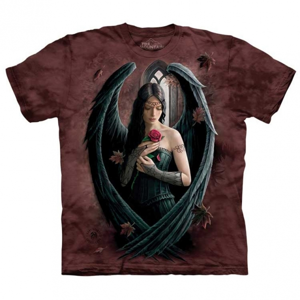 "T-Shirt Ange ""Angel Rose"" - L / T-Shirts Anges pour Femmes"