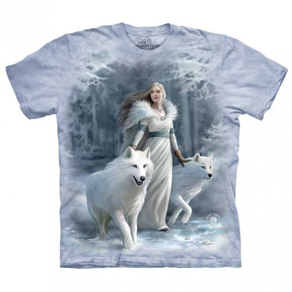 "T-Shirt Elfe ""Winter Guardian"" - L / Vêtements - Taille L"