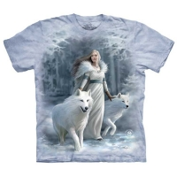 T-shirt the mountain Winter Guardian