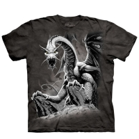t-shirt the mountain enfant black dragon