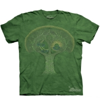 t-shirt the mountain celtic tree
