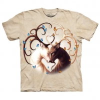 T-shirt the mountain Circle of Life