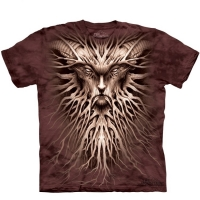 t-shirt the mountain dark roots