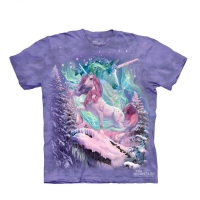 t-shirt the mountain enfant Aura Unicorn