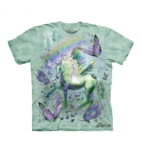 t-shirt the mountain enfant Unicorn & Butterflies