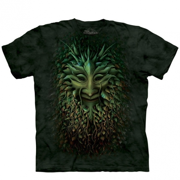 "T-Shirt ""Greenman"" - S / T-Shirts Hommes Arbres"