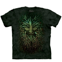 t-shirt the mountain green man