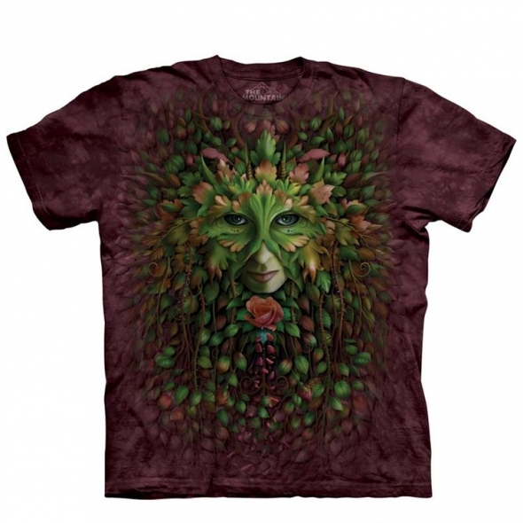 "T-Shirt ""Green Woman"" - XXL / T-Shirts Hommes Arbres"