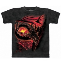 t-shirt the mountain hellfire dragon