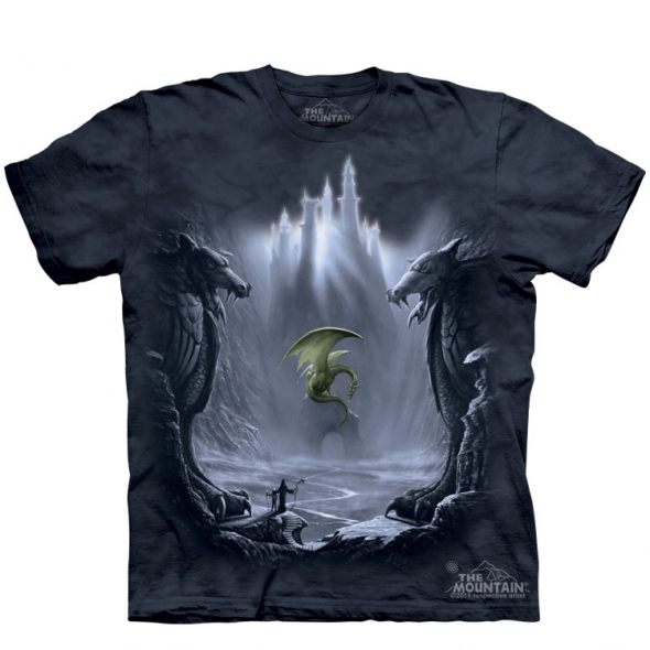 "T-Shirt Dragon ""Lost Valley"" - XL / T-Shirts Dragons pour Hommes"