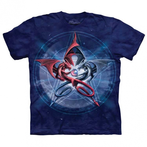 "T-Shirt Dragon ""Pentagram Dragons"" - S / Vêtements - Taille S"