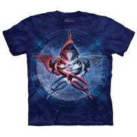 T-shirt the mountain Pentagram Dragons