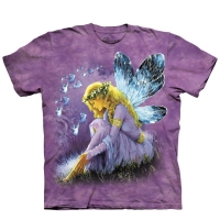 t-shirt the mountain purple winged fairy