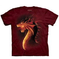 t-shirt the mountain red dragon