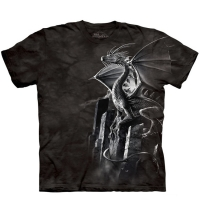t-shirt the mountain silver dragon