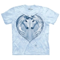 t-shirt the mountain Unicorn Heart