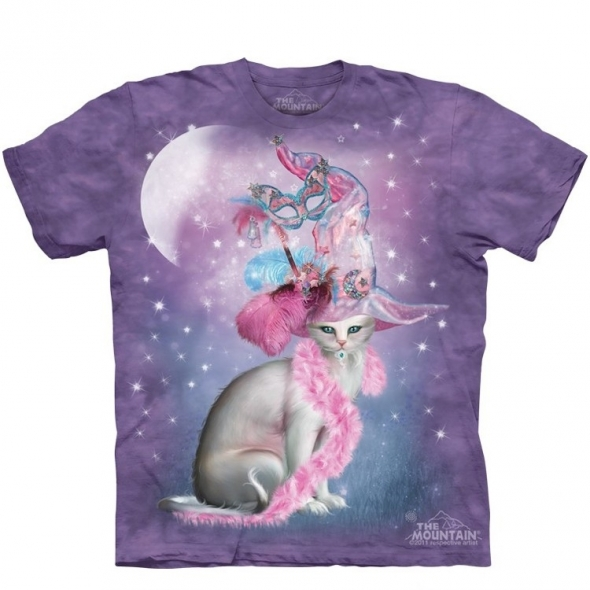 "T-Shirt ""Witchy Cat Hatter"" - L / Vêtements - Taille L"