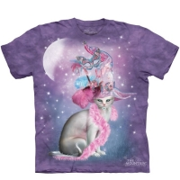 t-shirt the mountain witchy cat hatter