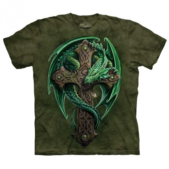 "T-Shirt Dragon ""Woodland Guardian"" - XXL / Vêtements - Taille XXL"